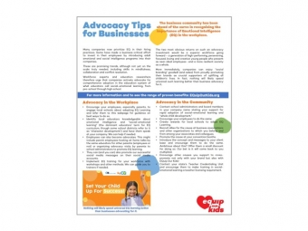 EQuip Our Kids Biz Advocacy boxed