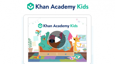 Khan Academy Kids logo boxed